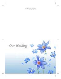 Free Printable Wedding Invitation Templates The Wedding Dresses - Wedding invitation templates: royal blue wedding invitation templates free