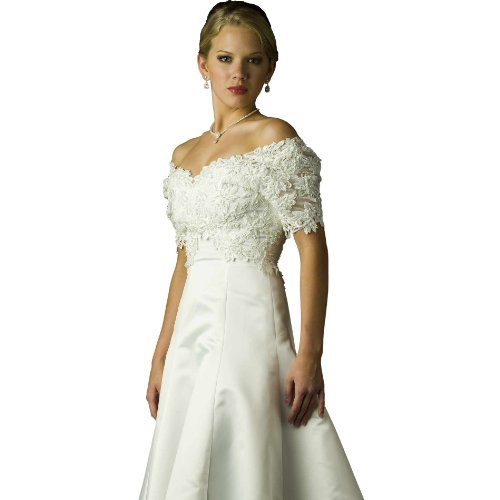 Wedding dress gown ivory bridal gown ivory dress for Ivory casual wedding dresses
