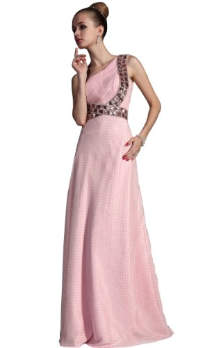 Pink Wedding Dress Bridesmaid Gown Extra Large On Sale