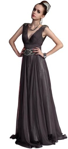 Hot Sale Mother Of Bride Evening Dress-Medium photo 01