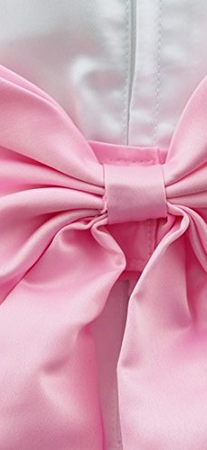 iEFiEL Girls Kids Wedding Party Darling Petals Bowknot Flower Dress Pink 4 photo 03